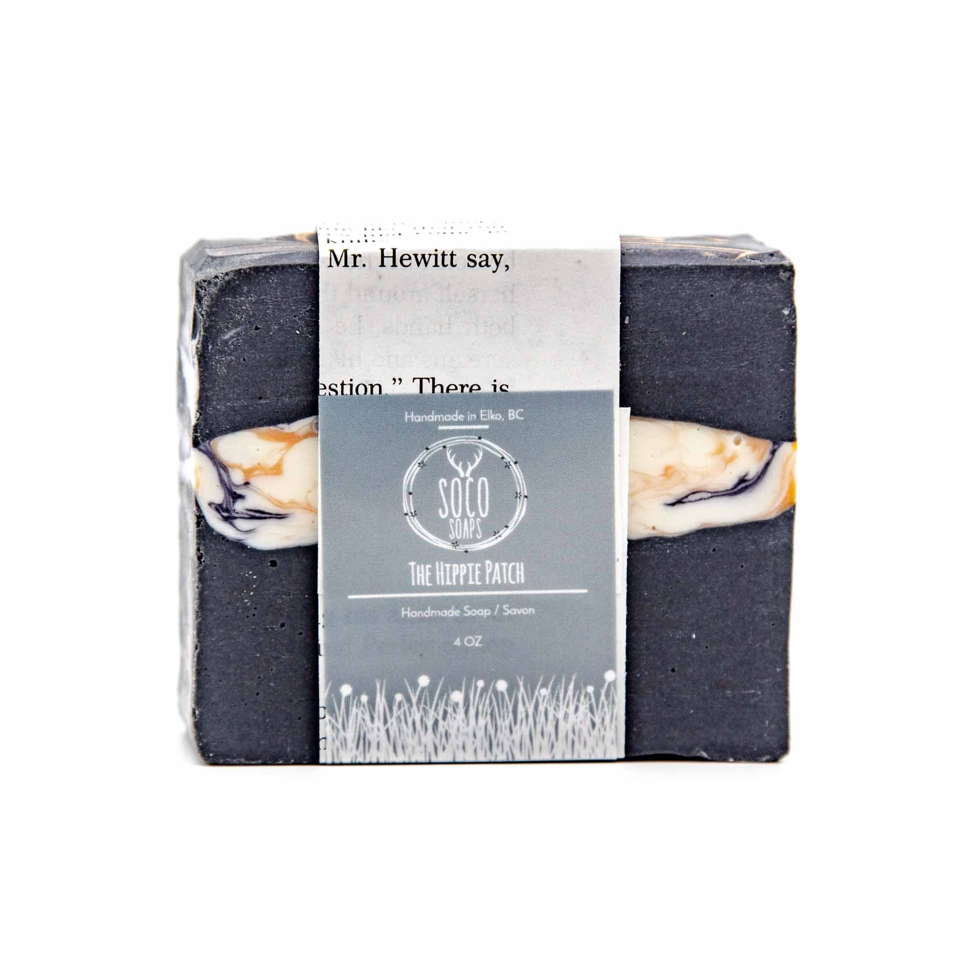 Soco Soaps The Hippie Patch Bar Soap - Mortise And Tenon