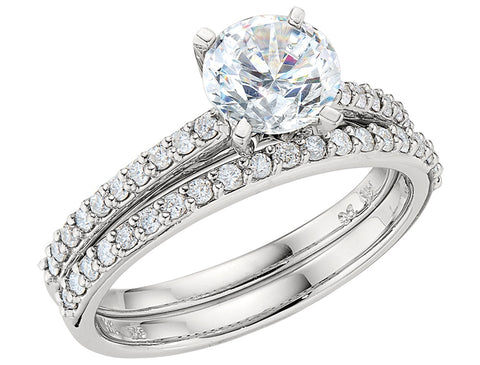 common prong engagement ring settings