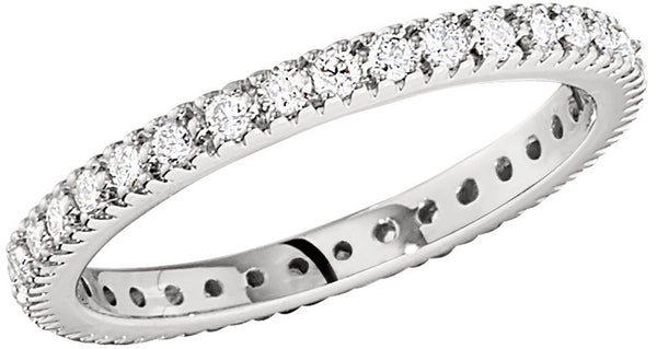 eternity diamond wedding rings