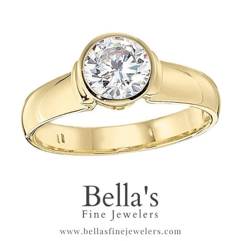 Solitaire Engagement Ring Settings, Athletic Engagement Rings, Bold Engagement Rings