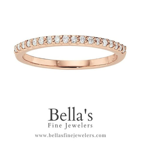 diamond wedding bands, rose gold diamond wedding bands, diamond wedding rings, simple diamond bands, classic diamond bands, thin diamond band, narrow diamond band