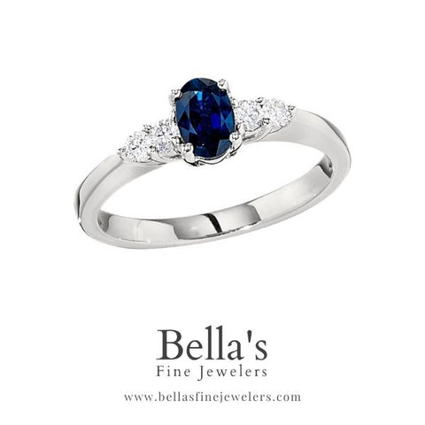 Sapphire and diamond engagement rings, sapphire engagement rings, gemstone engagement rings, unique engagement rings