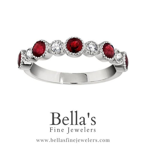 Examples of Ruby Wedding Bands