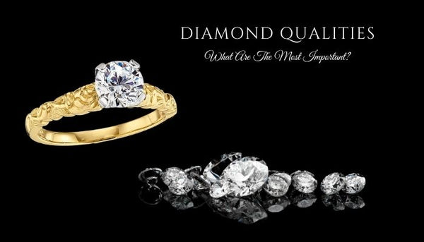 what are the most important diamond qualities, how do you buy a diamond, what are the 4Cs of diamonds, help diamond shopping
