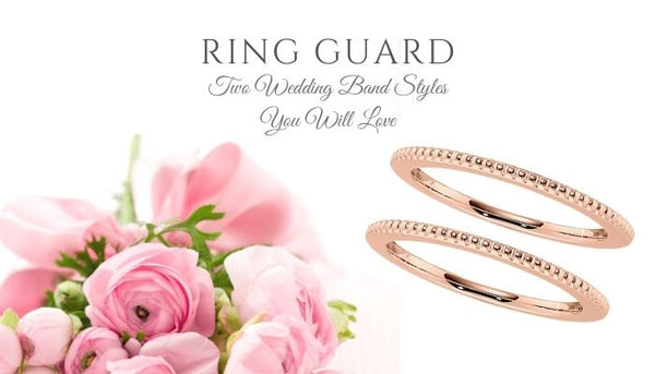 ring guards, two wedding bands, two wedding rings, wedding ring set, wedding band sets, double wedding bands, double wedding rings
