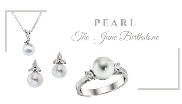 What is the June Birthstone, What birthstone is Pearl, Unique Pearl Jewelry, Pearl birthstone jewelry