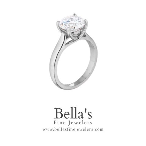 classic solitaire, trellis solitaire, trellis engagement ring, traditional engagement rings, shopping online for a solitaire