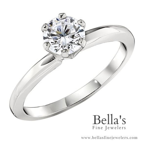 solitaire engagement ring thin band, solitaire ring, solitaire engagement ring, classic engagement rings, traditional engagement rings, simple engagement rings, die struck engagement rings