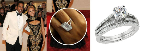 Celebrity Engagement Ring: Beyoncé's Engagement Ring