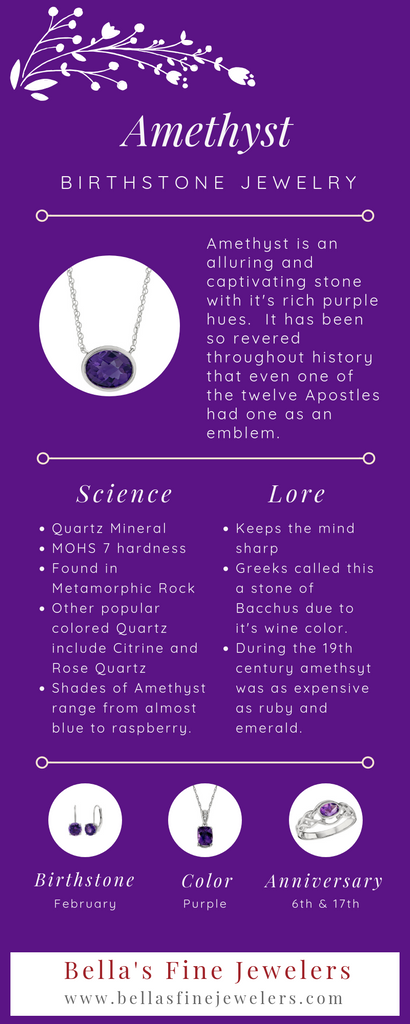 what is the February birthstone, What birthstone is Amethyst, unique birthstone jewelry