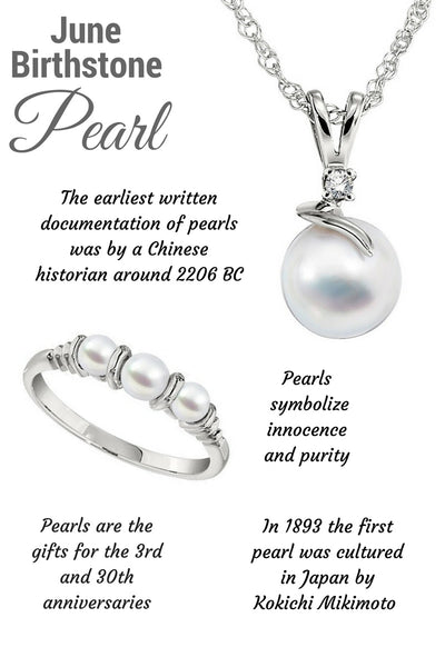 Pearl birthstone Jewelry, What is the June Birthstone, What birthstone is Pearl, Unique Birthstone Jewelry