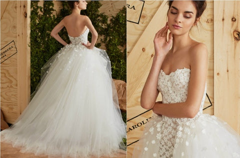 2017 Bridal Gown Trends Floral Texture
