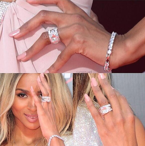 Celebrity Wedding Rings and how to copy their look