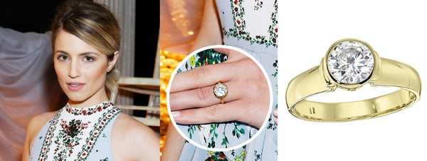 Diana Agron Engagement Rings, Celebrity engagement rings