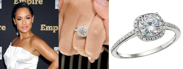 Grace Gealey's Engagement Ring, Celebrity Engagement Rings