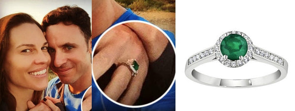 Hillary Swank's Engagement Ring, Celebrity Engagement Rings