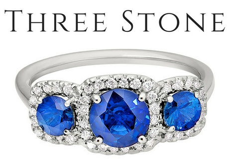 three stone engagement rings, how do I buy an engagement rings, what are three stone rings