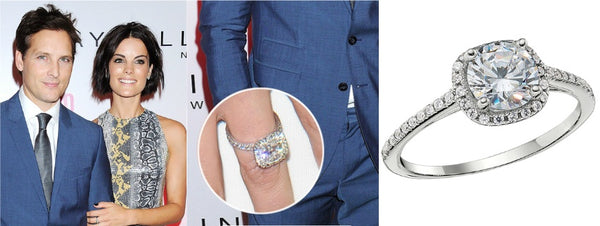 Jaimie Alexander's Engagement Ring, Celebrity Engagement Rings