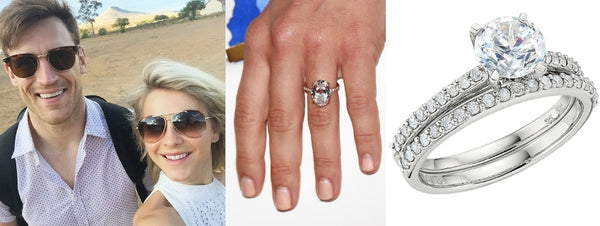 Julianne Hough's Engagement Ring, Celeb engagement rings