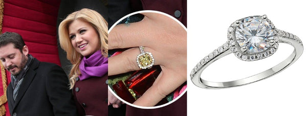 Kelly Clarkson's Engagement Ring, Celeb Engagement Rings