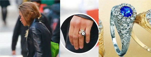 MaryKate's engagement ring, Mary Kate's Engagement ring, Celebrity Engagement Rings, Vintage Engagement Rings