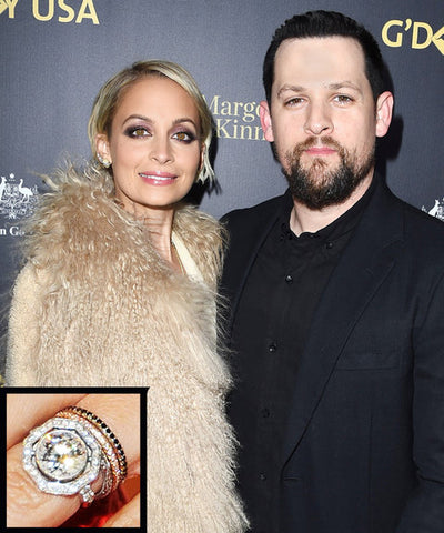 Nicole Richie Wedding Rings, How To Buy non matching Wedding Rings, Unique Wedding Bands and Matching Wedding Rings