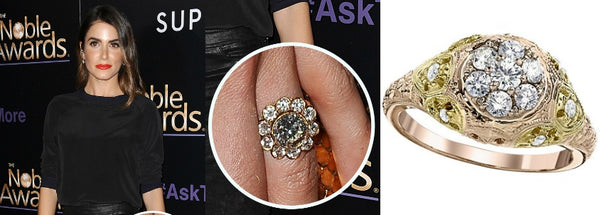 Celebrity Engagement Ring, Nikki Reed's Engagement Ring