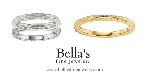 All gold matching wedding bands, wedding ring sets. his and her wedding rings, unisex matching wedding ring