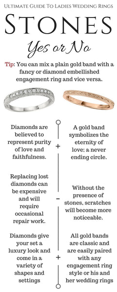 Ultimate Guide To Wedding Rings_Should a wedding band have diamonds