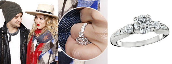 BC Jean Engagement Ring, Celebrity Engagement Rings