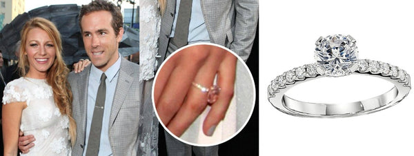 Blake Lively Engagement Ring, Celebrity Engagement Rings