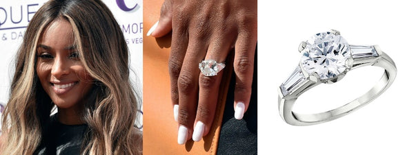 Ciara's Engagement Ring, Celebrity Engagement Rings