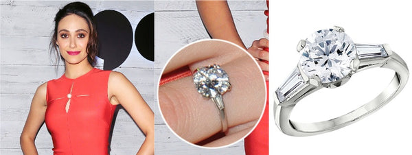 Emmy Rossum's Engagement Ring, Celebrity Engagement Rings