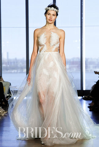 daring wedding dresses