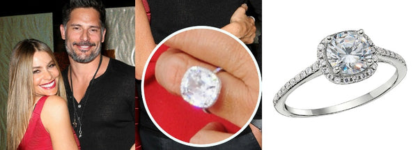 Celebrity Engagement Ring, Sofia Vergara's Engagement Ring