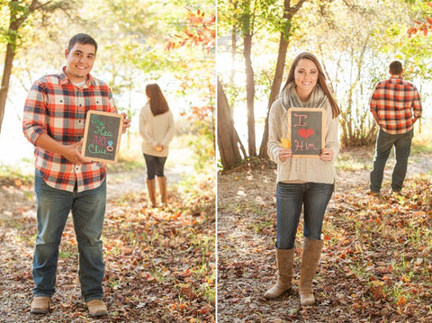 staging an engagement, how to organize a surprise proposal during a portrait session