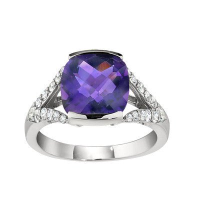 contemporary ring, modern ring, unique rings, amethyst ring, amethyst jewelry