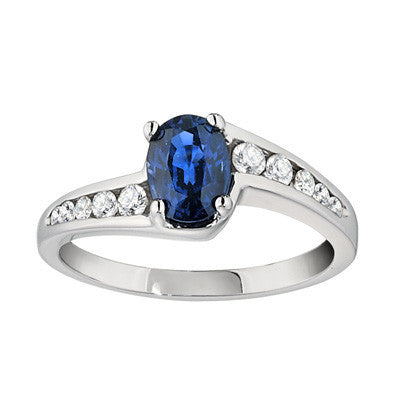 September birthstone, contemporary ring, modern ring, unique rings, sapphire ring, sapphire jewelry