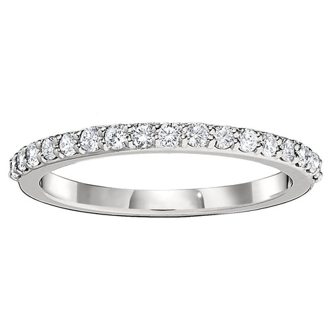 Common Prong Stackable Wedding Bands