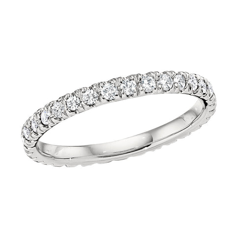 stackable wedding bands, matching wedding bands, diamond eternity band