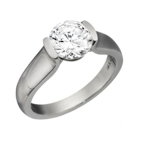 modern solitaire, athletic engagement rings, semibezel engagement rings, tension engagement rings, modern solitaire