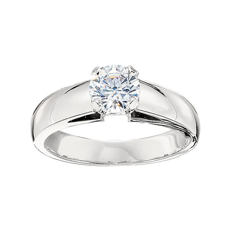 Classic Solitaire Ring Settings, modern solitaire engagement rings