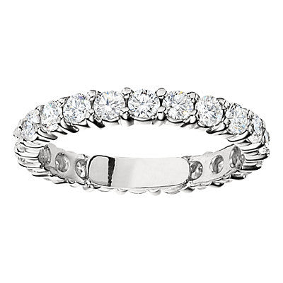 diamond eternity band, stackable wedding bands, matching wedding bands