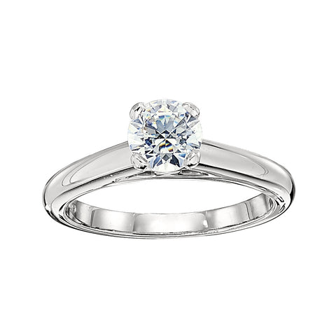 Classic Solitaire Ring Settings, solitaire engagement rings, airline engagement rings