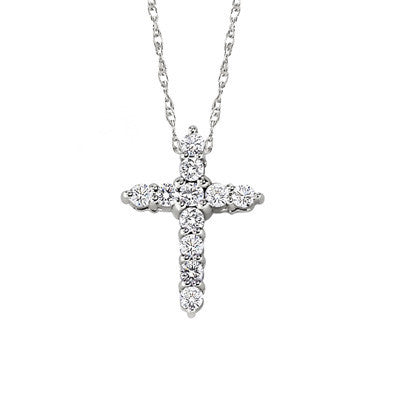 diamond cross necklace, diamond cross pendant, cross jewelry, diamond cross jewelry
