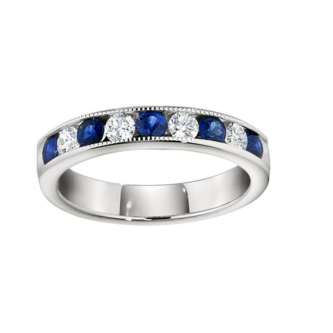 Sapphire Wedding Rings, Gemstone Wedding Bands