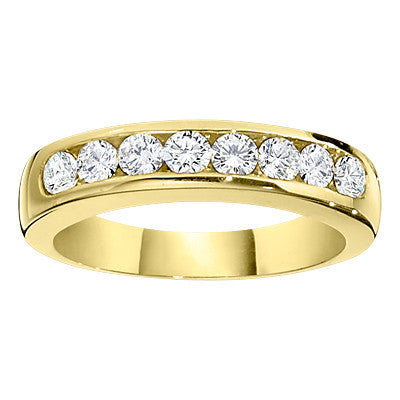 channel wedding band, channel band, gold wedding bands, classic diamond wedding bands, classic diamond bands