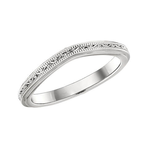curved wedding bands, matching wedding bands, curved wedding ring, contoured wedding ring, contoured wedding band