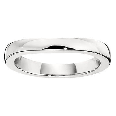 matching wedding bands, curved wedding bands, curved wedding band