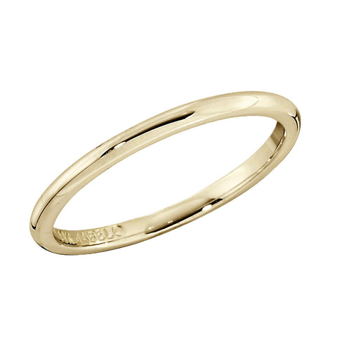 Classic 1.5MM Low Domed Band